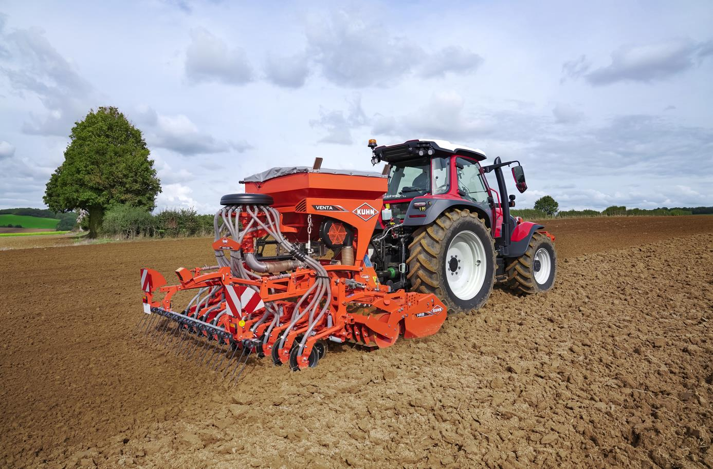 New VENTA 320 Built-in Pneumatic Seeder Simply what is required for profitable sowing